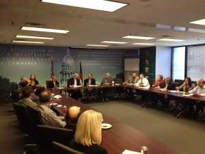 The Colorado Chamber Energy & Environment Council Meets with the Regional Director of the EP